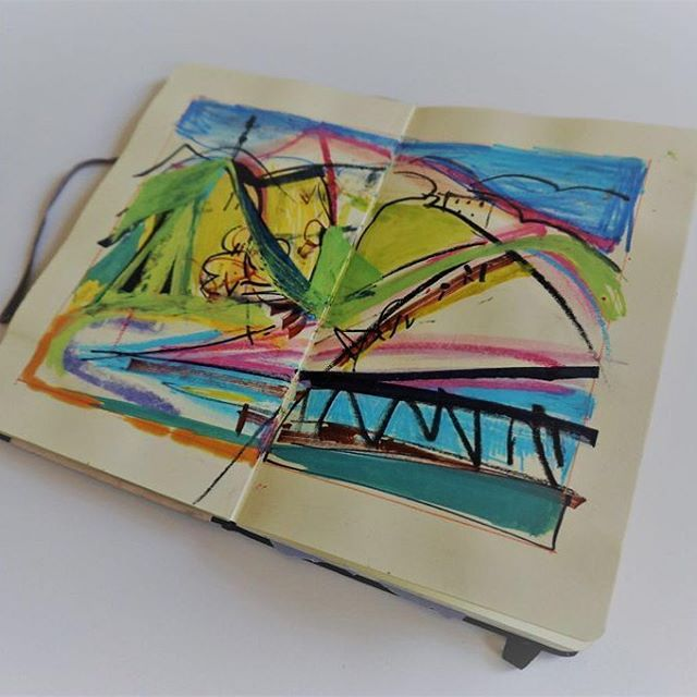 Sketchbook⠀ #BVI'S #Landscapes⠀ .⠀ .⠀ .⠀ #art #artist #monoprint #abstract #abstractartist #colour #creative #fineart #gallery #paint 'instaart #creative #artwork #inspiration #artistoninstagram #artlovers #artnews #artoftheday #artreception #artgallery #artstudio #artinfo #contemporaryart #drawing #design #artistsofinstagram