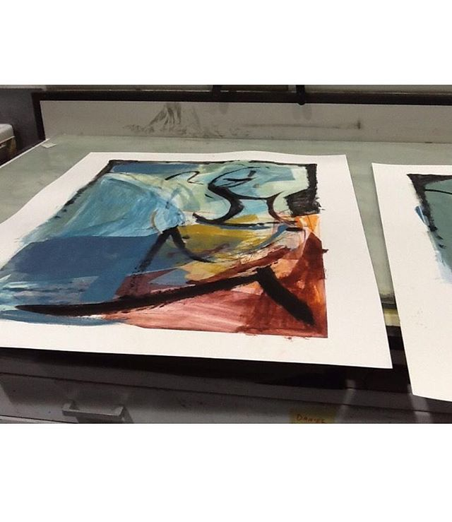 'She came to Stay' monoprints drying⠀ #simonedeBeauvoir #Shecametostay⠀ .⠀ .⠀ .⠀ #art #artist #monoprint #abstract #abstractartist #colour #creative #fineart #gallery #paint 'instaart #creative #artwork #inspiration #artistoninstagram #artlovers #artnews #artoftheday #artreception #artgallery #artstudio #artinfo #contemporaryart #drawing #design #artistsofinstagram