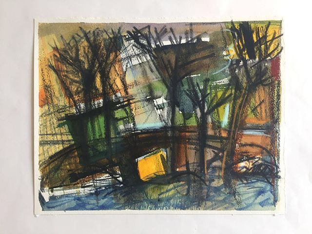 Study for 'Trees in the Reservoir' Walthamstow⠀ mixed media drawing⠀ .⠀ .⠀ .⠀ #art #artist #monoprint #abstract #abstractartist #colour #creative #fineart #gallery #paint 'instaart #creative #artwork #inspiration #artistoninstagram #artlovers #artnews #artoftheday #artreception #artgallery #artstudio #artinfo #contemporaryart #drawing #design #artistsofinstagram