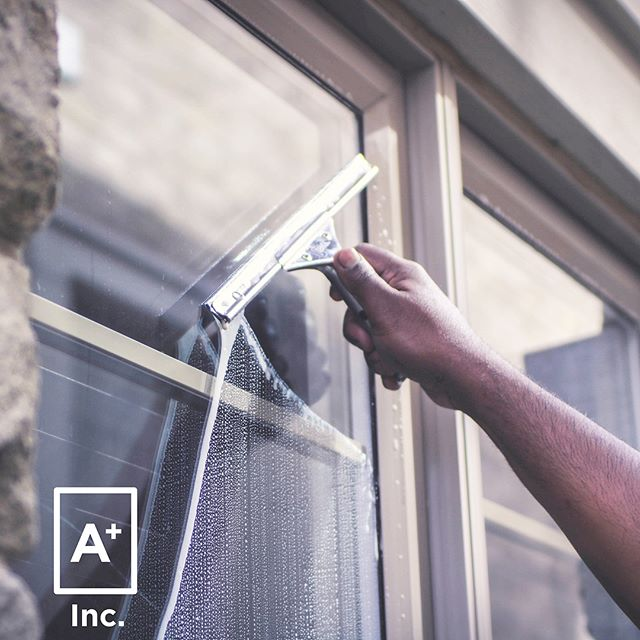 Probably our two best window cleaning pics ever. That squeegee is sooooo satisfying ✨ #aplus #loveyourhome 📸 @mrteeleung