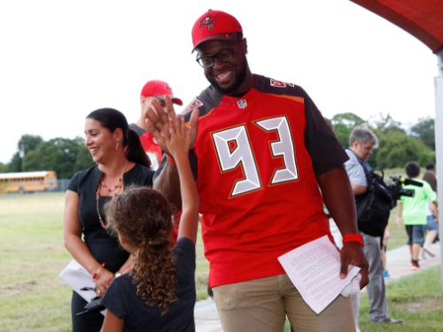 Gerald McCoy Supports Single-Parent Families in Honor of Late Mother