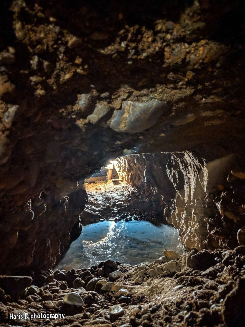 Sacred High Frequency Water from the Womb of the Bosnian Pyramid Complex   Photographer:  Haris Delibasic