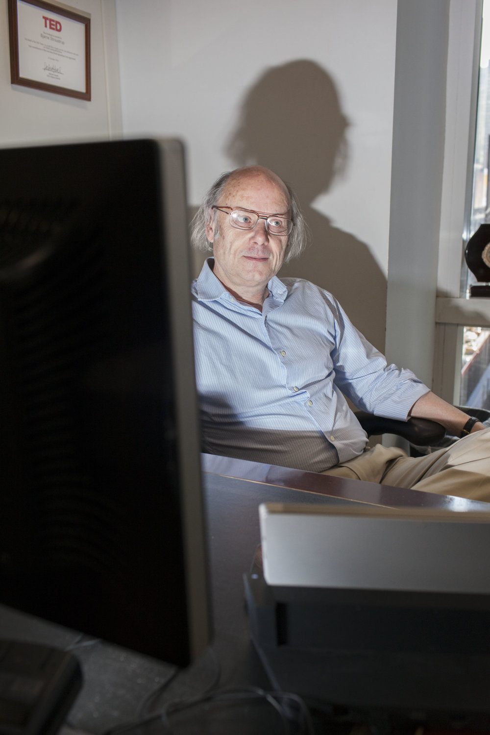 Bjarne Stroustrup shot for Børsen. 2017
