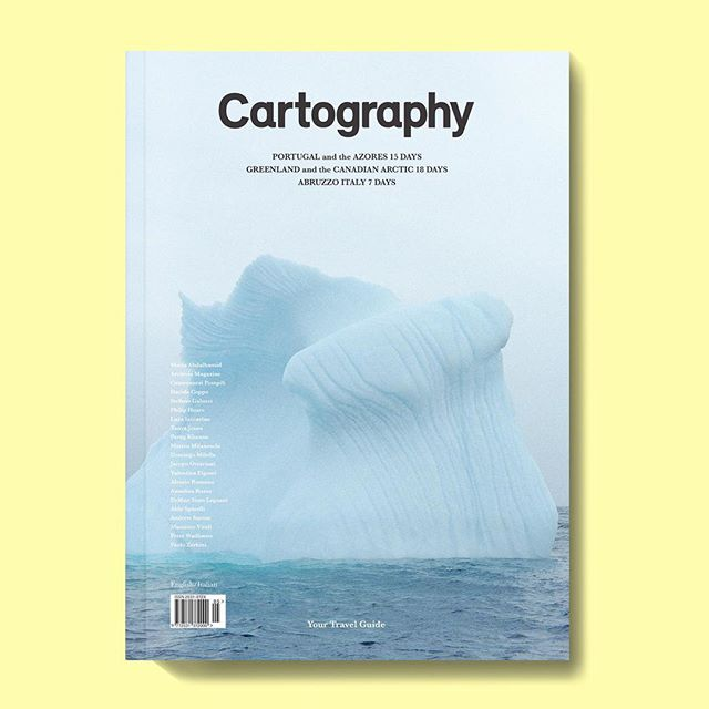 We are happy to announce the new issue of @bycartography 💥 devoted to Portugal and the Azores, Greenland and the Canadian Arctic and Abruzzo, Italy | Issue No 5 #mapping #photography #travel #posttourism #archiviomadre #regram