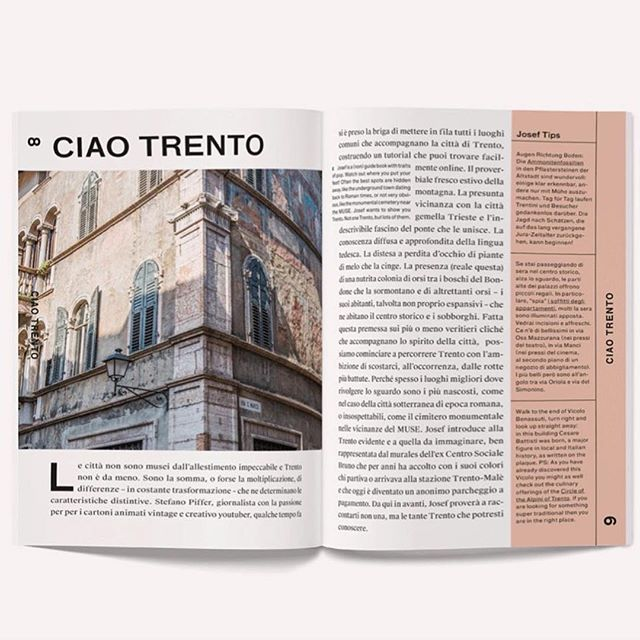'Not one Trento, but lots of them' @joseftravelbook #archiviomadre #regram  #joseftrento #joseftravelbook #trilingual #josef #citytrip #citytripwithjosef #trento #travelbook #travelguide