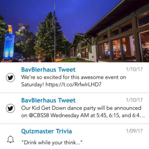 Bavarian BierHaus App - Anchor 5