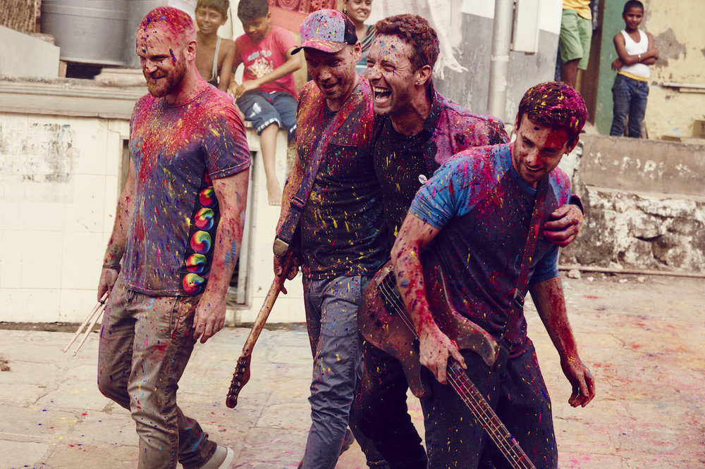 Coldplay, credit Julia Kennedy