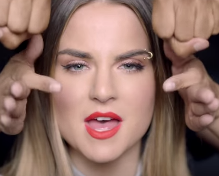 "Screenshot of JoJo from ""When Love Hurts"""