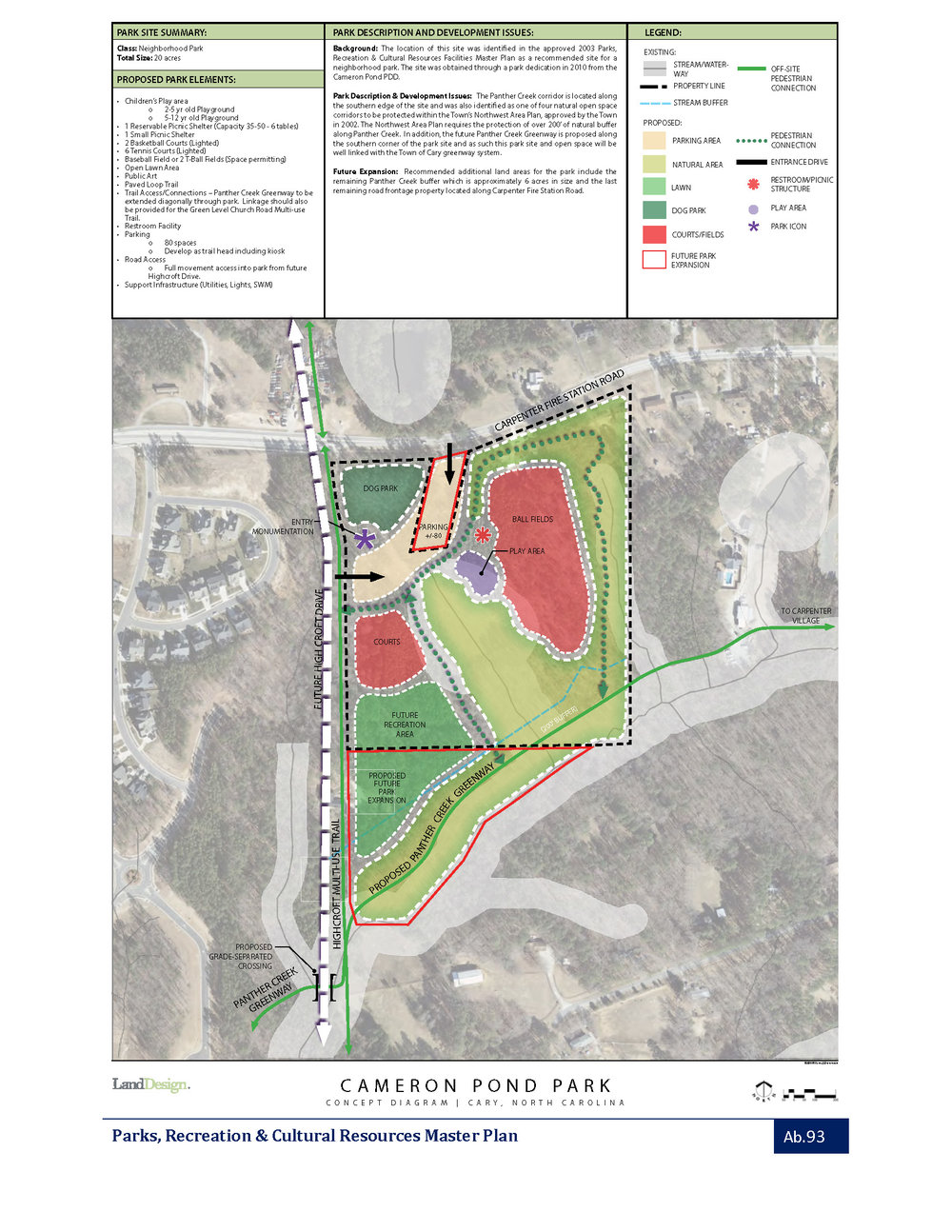 Town of Cary Concept Plan from 2012