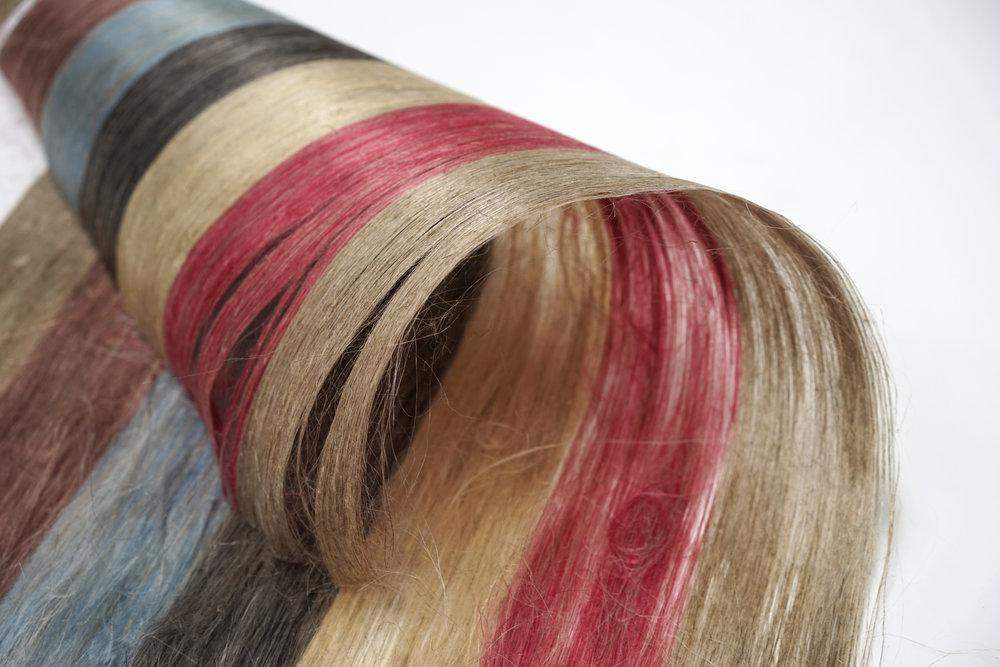 color dye linen fiber custom finishes