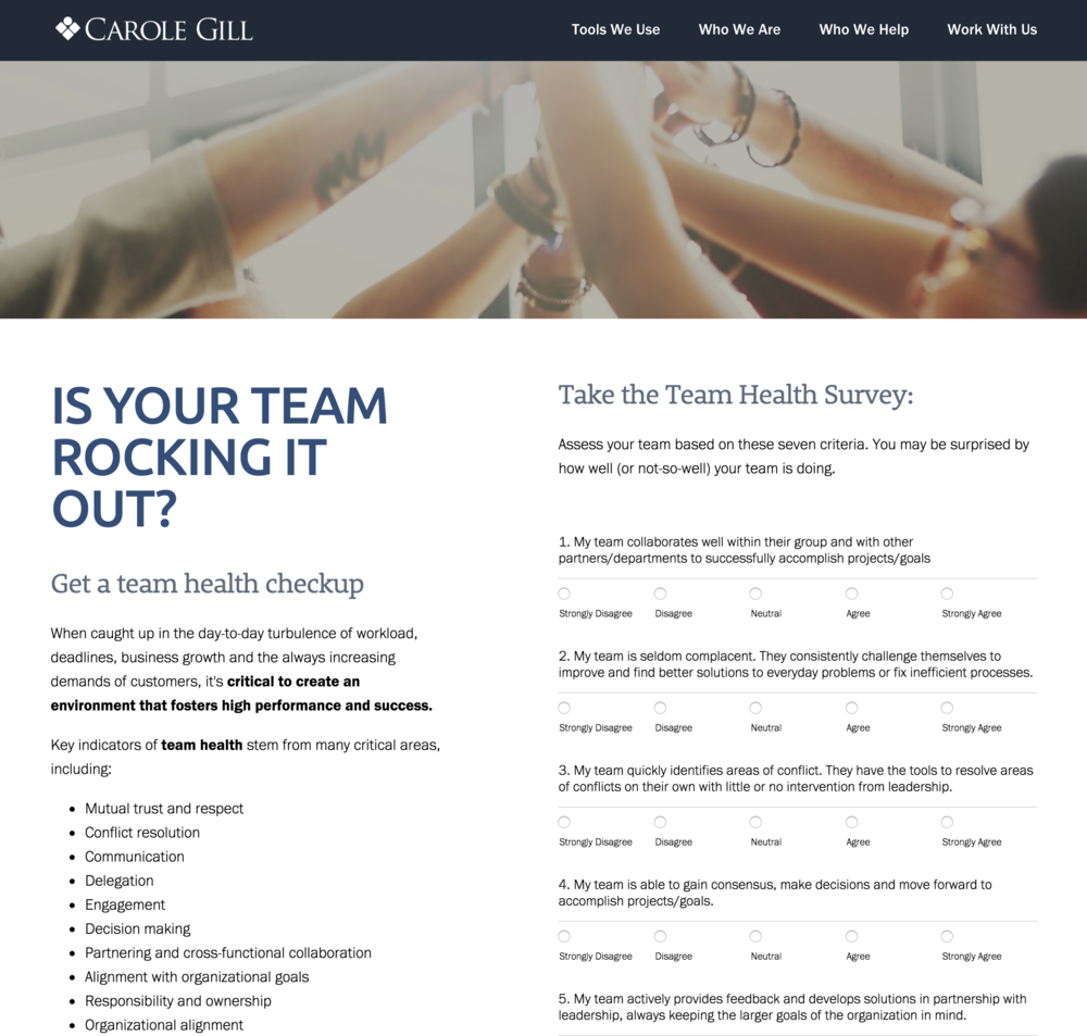 Team Health Survey