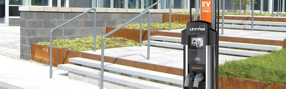 Evr-Green® 4000 Level 2 Public Use Charging Station