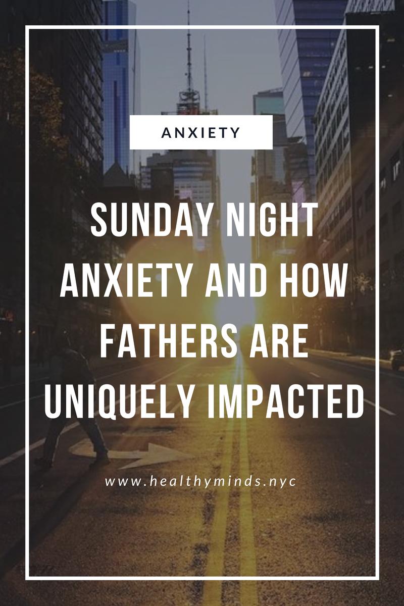 Sunday Night Anxiety