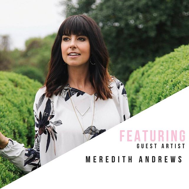 Have you heard? Meredith Andrews will join us at Women's Conference this November as our special guest artist! If you haven't listened to Merediths worship albums, you need to, like right now. What is your favorite song from her worship albums? Share below!