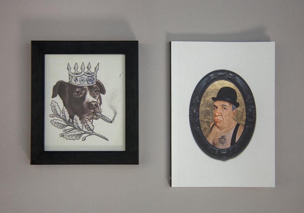 TURF ONE - King Jay Dog (tattoo flash) - 6.25x7.25.jpg