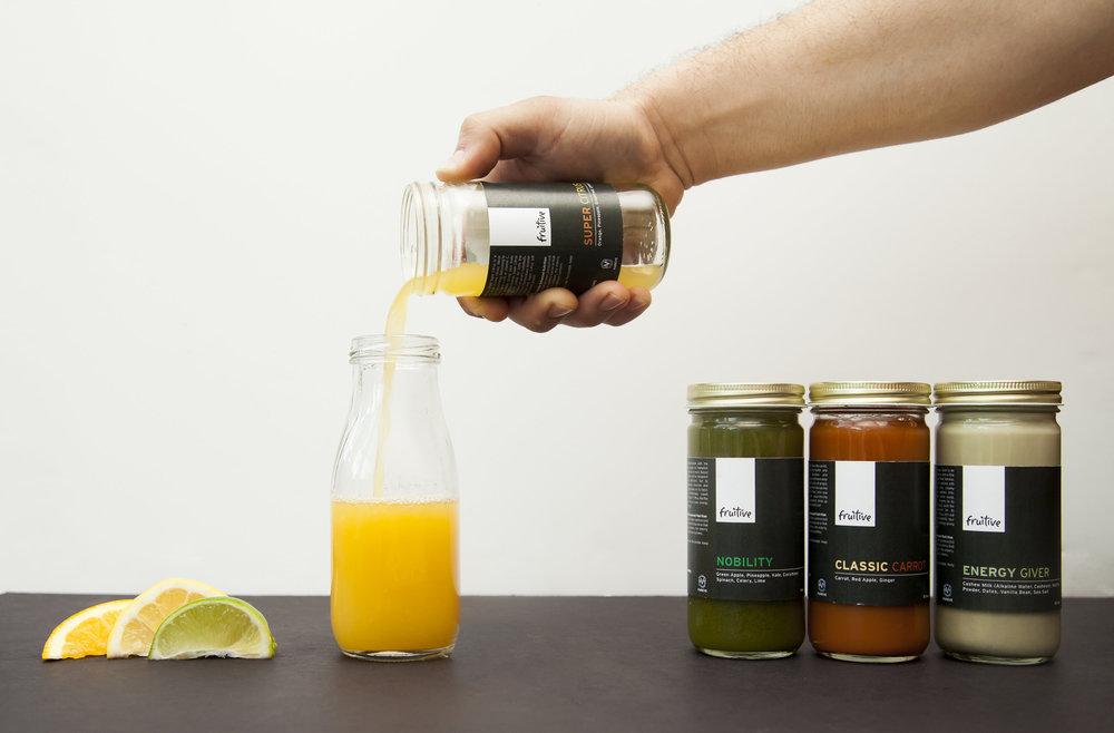 Cold-Pressed Juice Menu