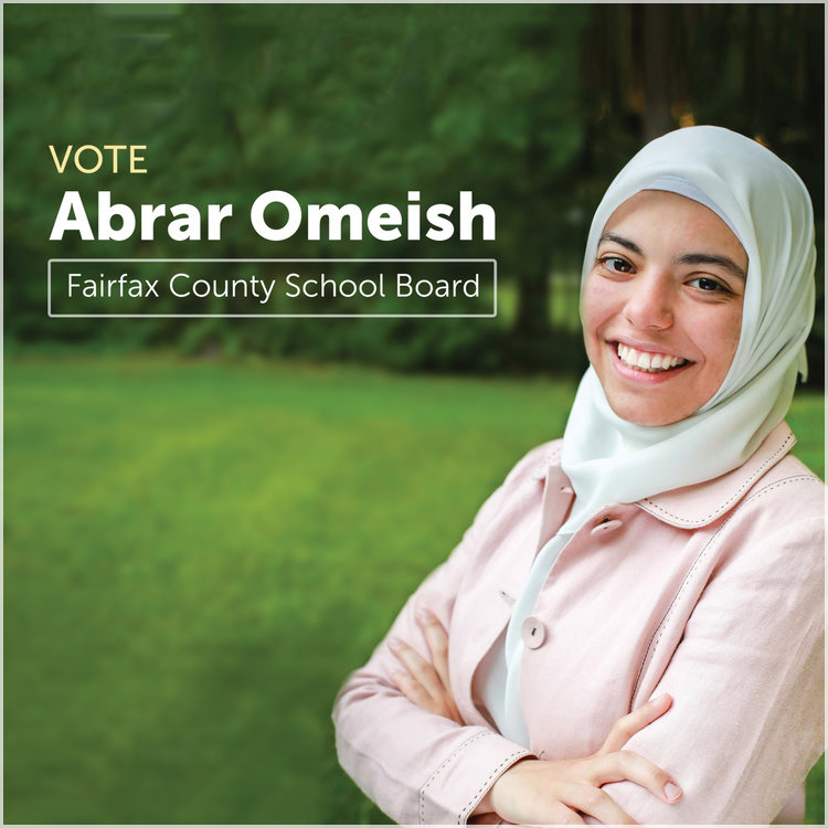 ABRAR OMEISH  Fairfax County School Board  Fairfax, VA