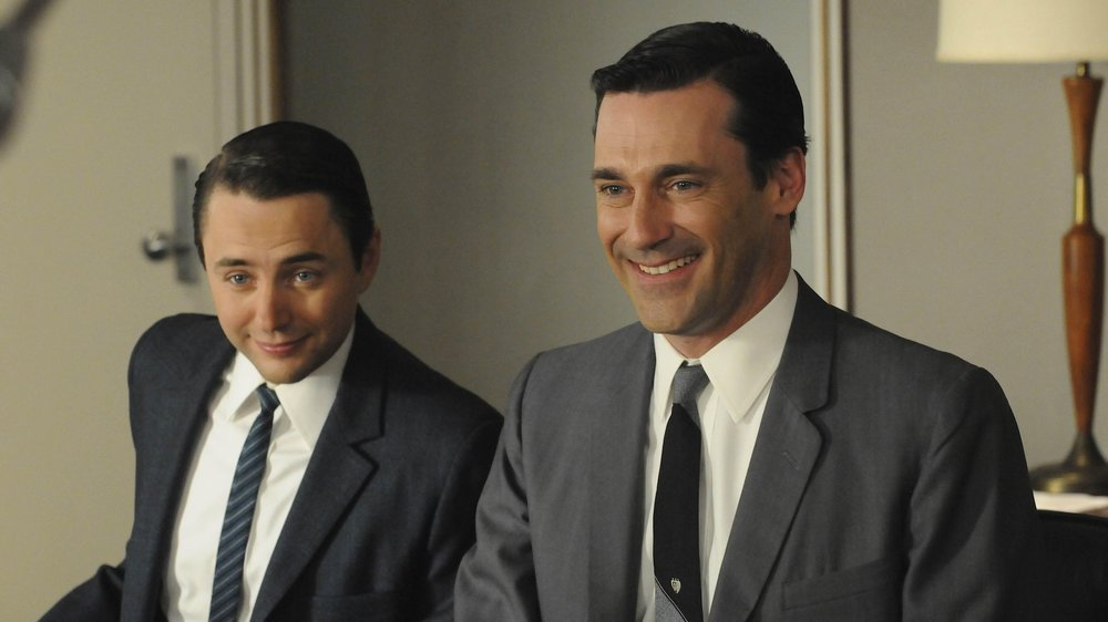 mad men pete campbell and don draper