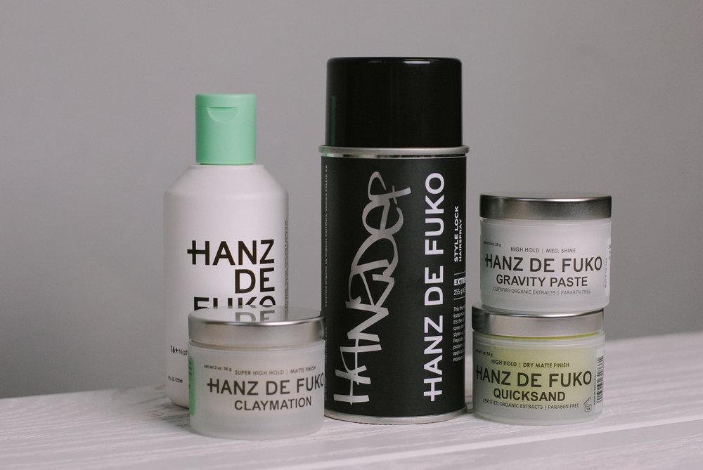 hanz de fuko hairspray at the qg