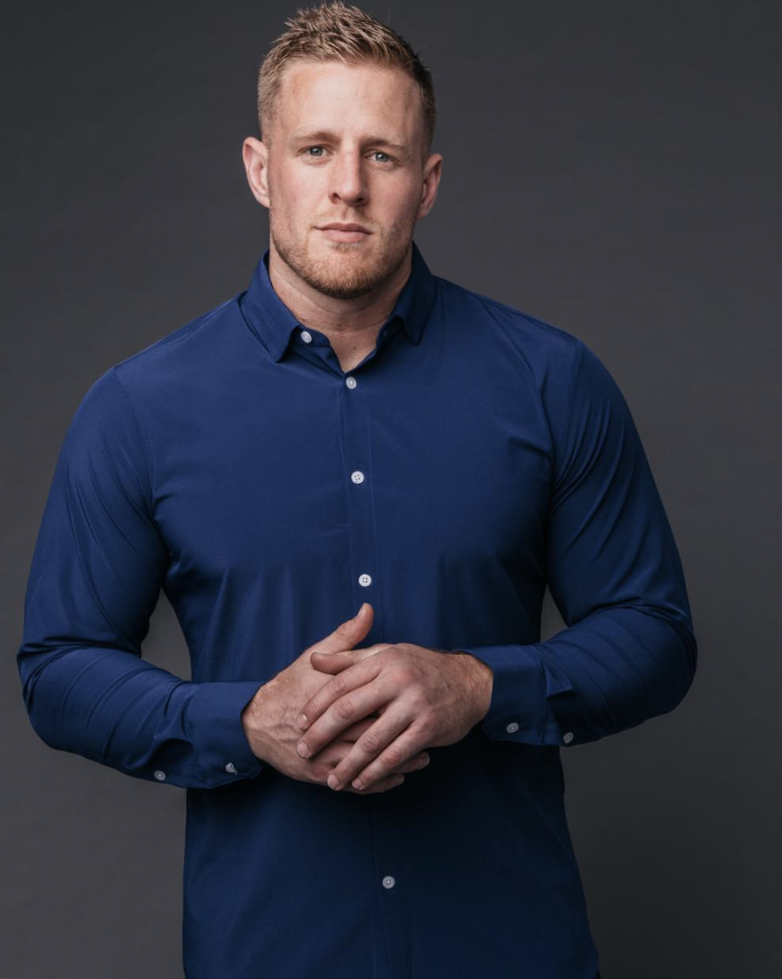 Houston Texan JJ Watt is a big believer in Mizzen+Main