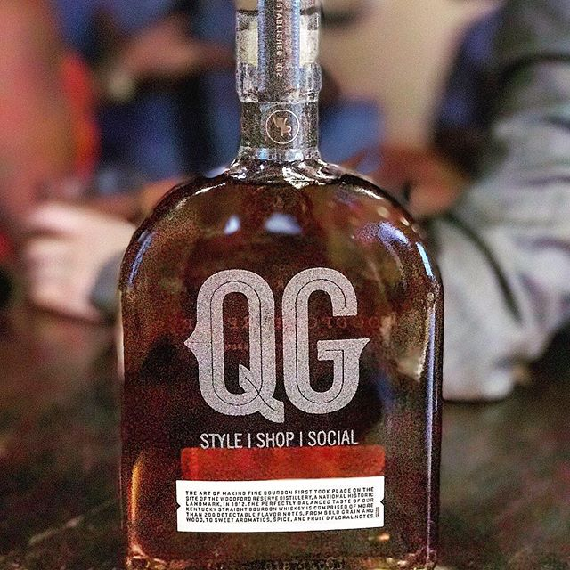 Come join me at @theqg on Tuesday for a @woodfordreserve engraving and @olivacigar pairing