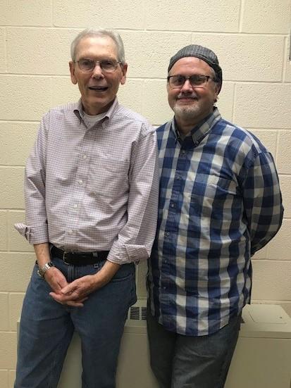 Bob Walker and Gregg Harding