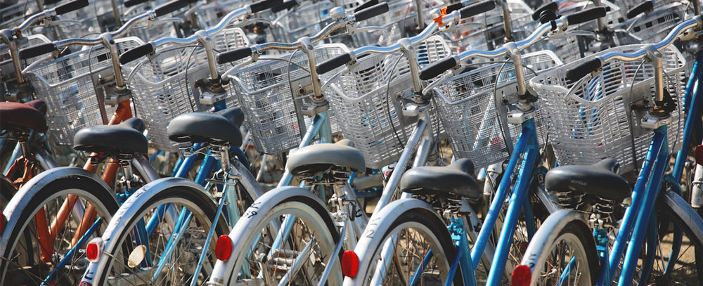 Bikes offer inexpensive, mobile business opportunities