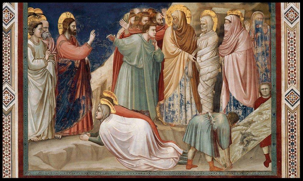 The Raising of Lazarus - Giotto