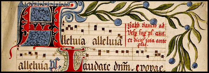 14th Century Gregorian Antiphonale