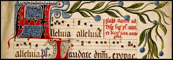 14th Century Gregorian Antiphonale