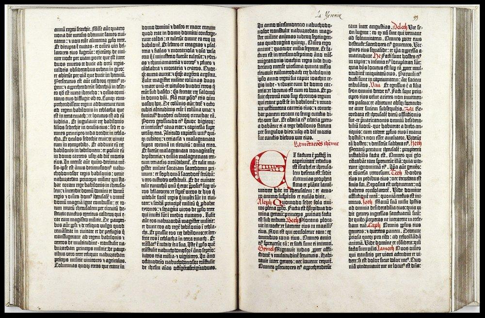 Gutenberg Bible - c. 1450