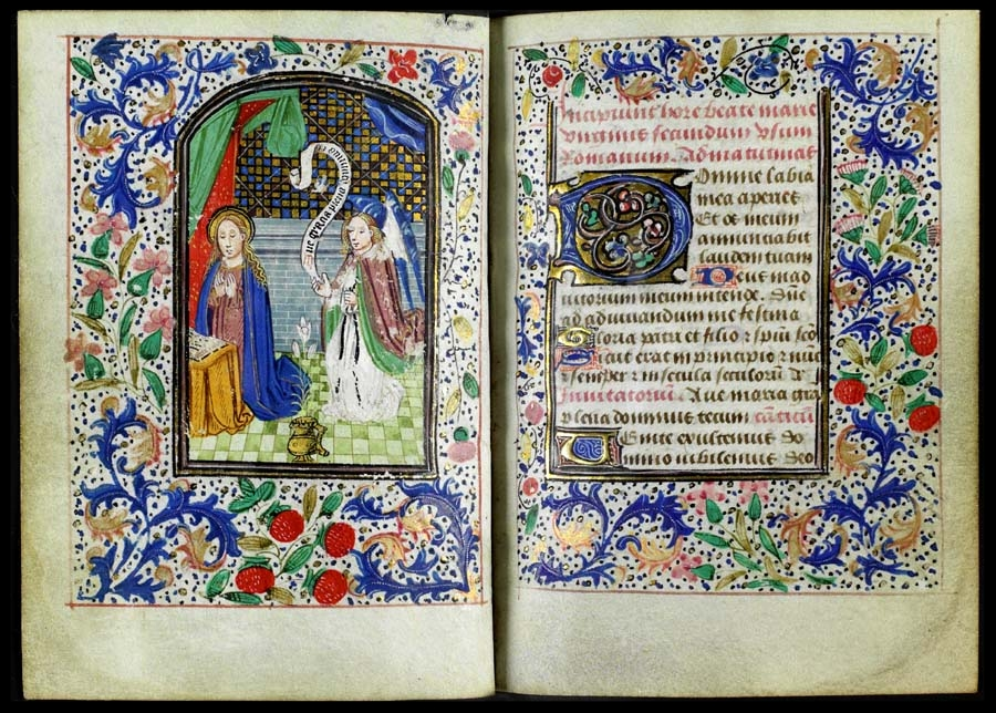 Book of Hours - c. 15th century