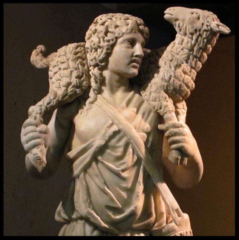Jesus the Good Shepherd - Vatican Museum - c 4th century