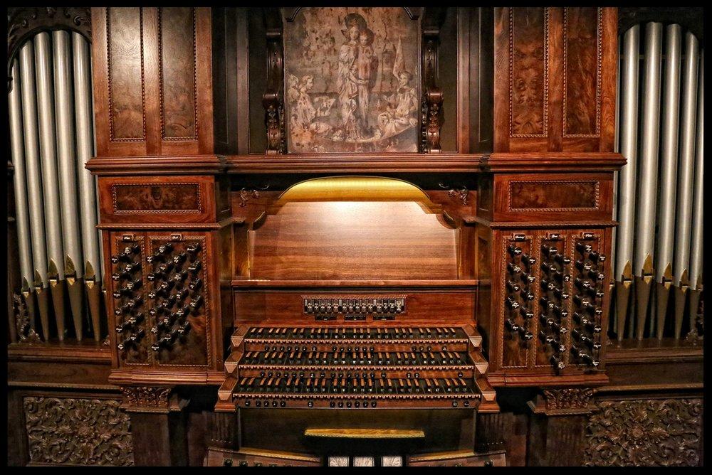 Walker Organ - Serra Chapel