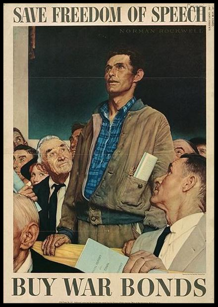 From Four Freedoms - Norman Rockwell