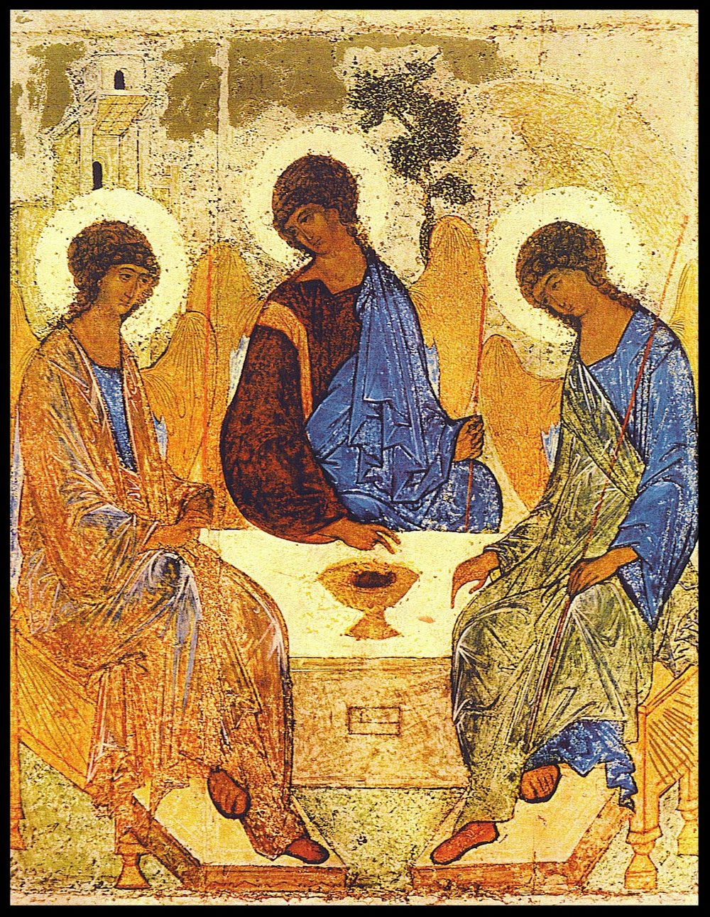 Trinity Icon - A. Rublev - c. 15th