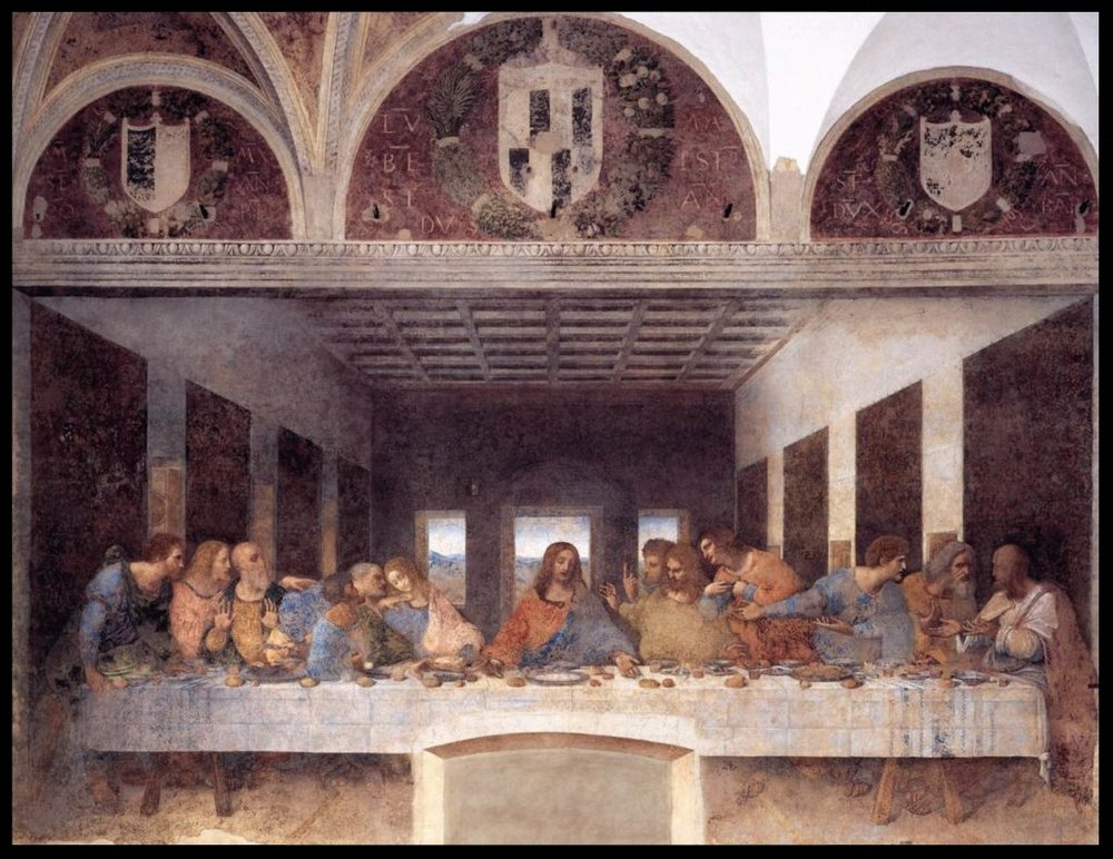 The Last Supper - Leonardo de Vinci - 1452-1519