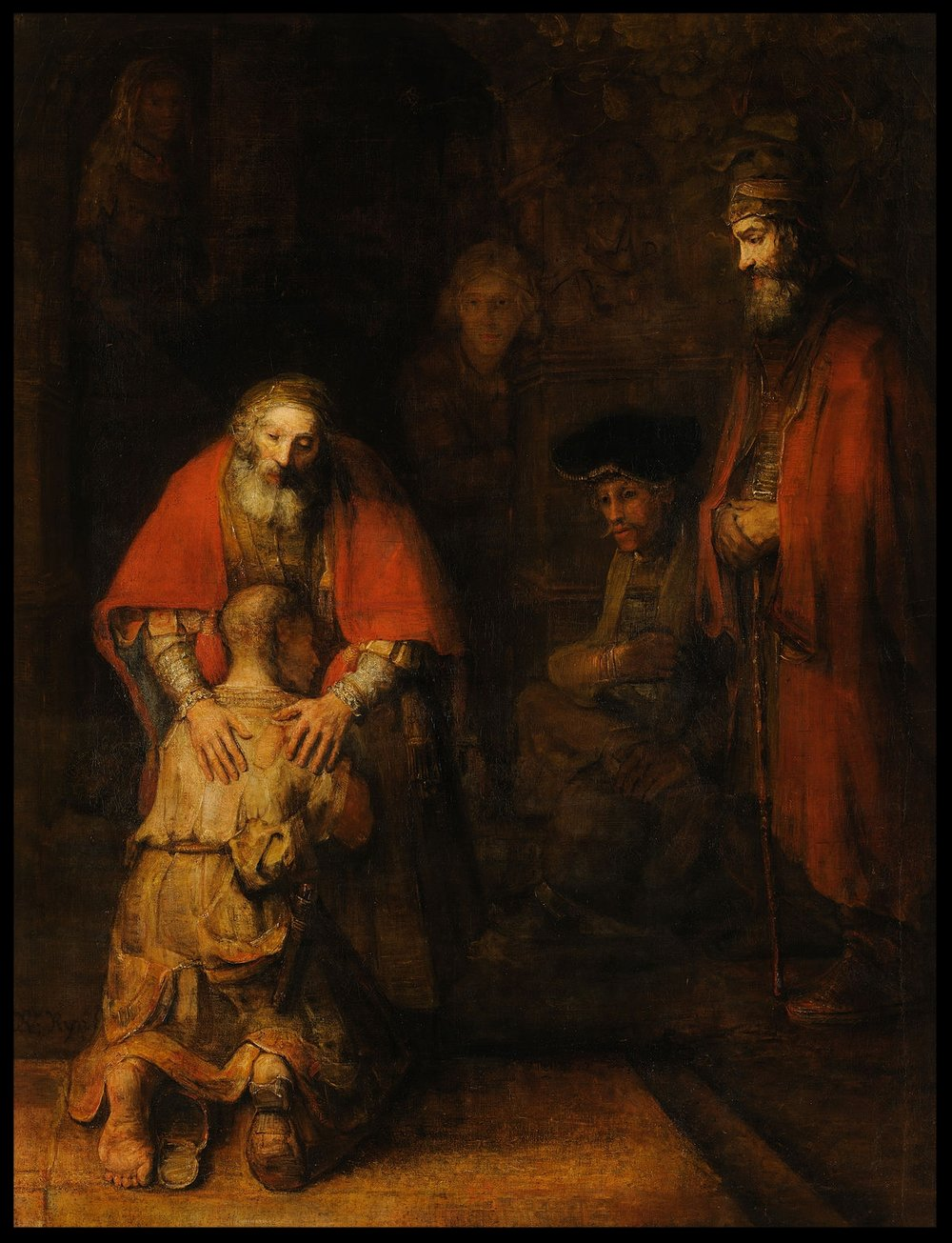The Return of the Prodigal Son - Rembrandt - 1669
