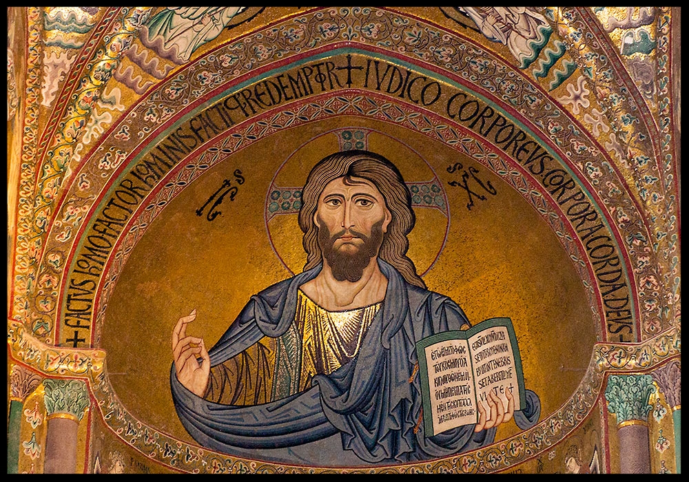 Christ Pantocrator in the Cefalù Cathedral, Sicily