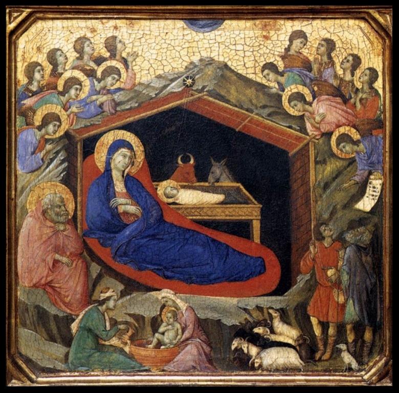Nativity -Duccio di Buoninsegna - c 1308-1311