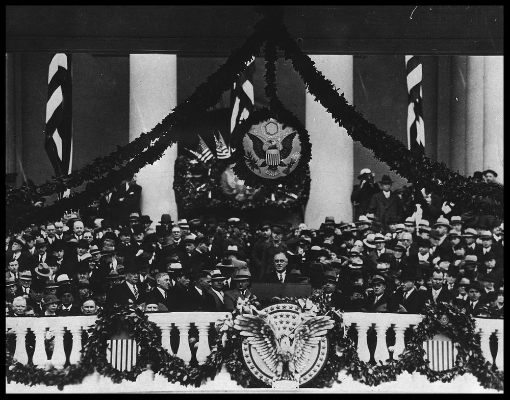 FDR's first Inaugural - 1933