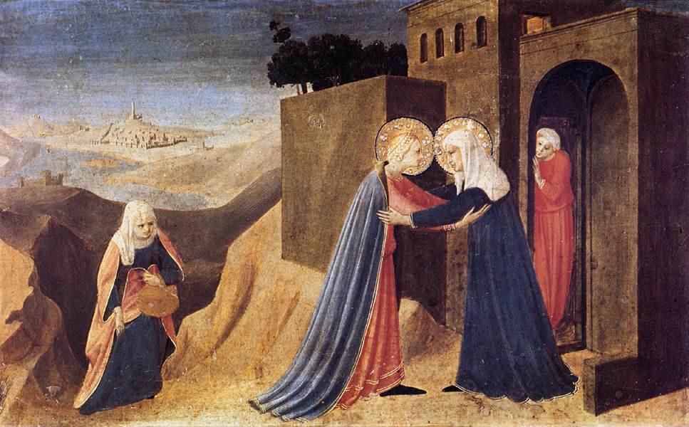 The Visitation - Fra Angelico 1432