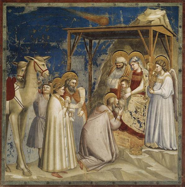 Adoration of the Magi - Giotto