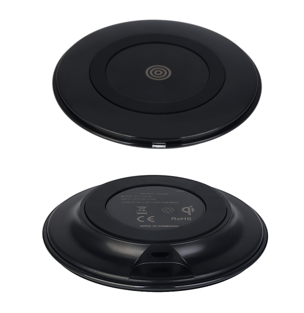 - 15W Qi Wireless Charging (iPhone, Samsung, etc)