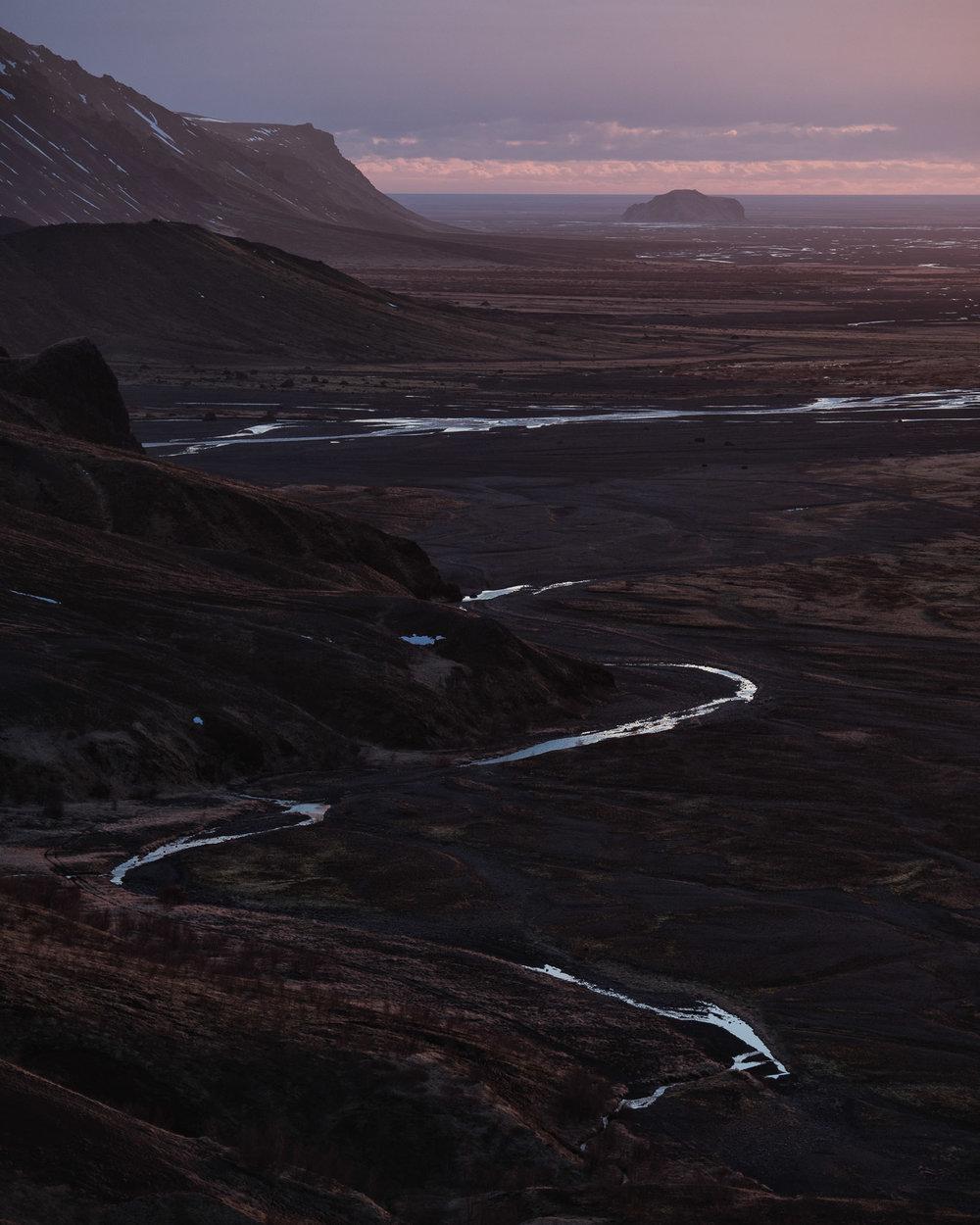 A hike to the roof of the Þórsmörk valley.
