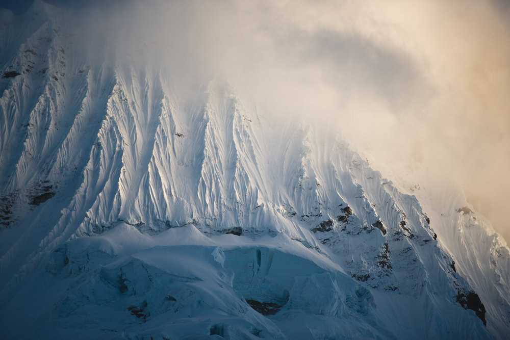 glacial structures