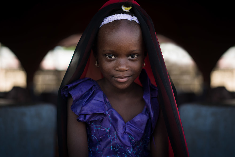 girl in the gambia