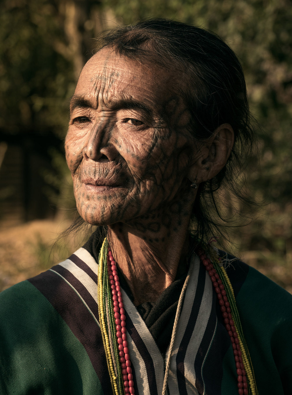 chin woman in myanmar