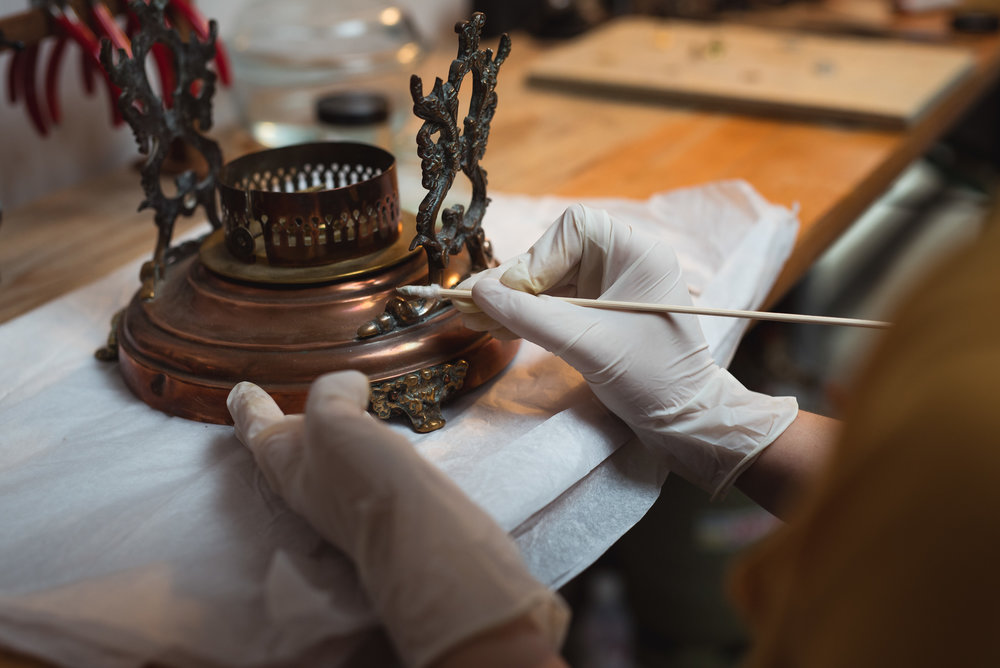 Artisan: metal conservation