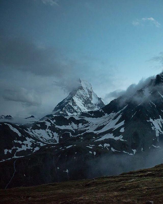 After the storm.  ___ #nikonnl #matterhorn #zermatt #twilight #outdooradventures